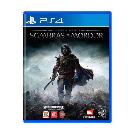 Jogo Terra-Média Sombras de Mordor - PS4 - Semi Novo