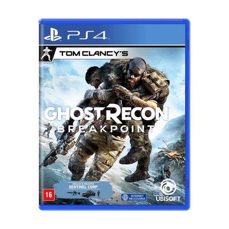 Jogo Tom Clancy's Ghost Recon Breakpoint - PS4 - Semi Novo
