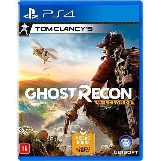 Jogo Tom Clancy's Ghost Recon Wildlands - PS4 - Semi Novo