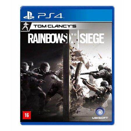 Jogo Tom Clancy's Rainbow Six Siege - PS4 - Semi Novo