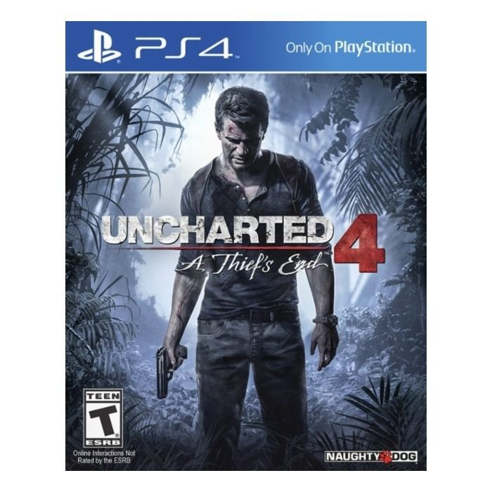 Jogo Uncharted 4 - A Thief's End - PS4