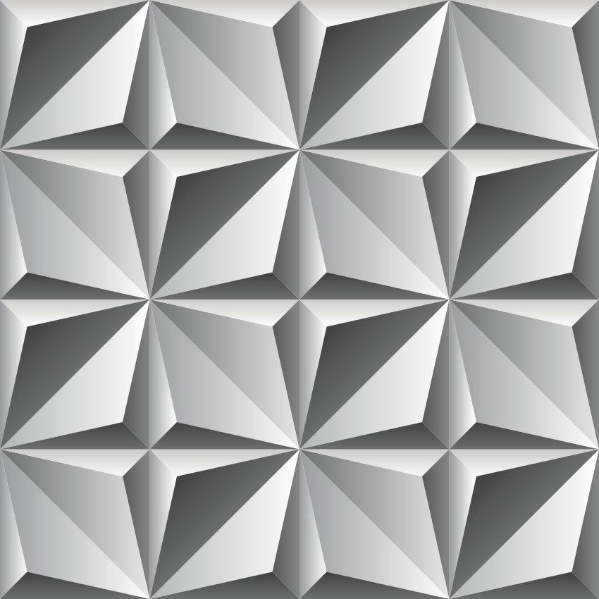 PAPEL DE PAREDE ASPECTO 3D - 632