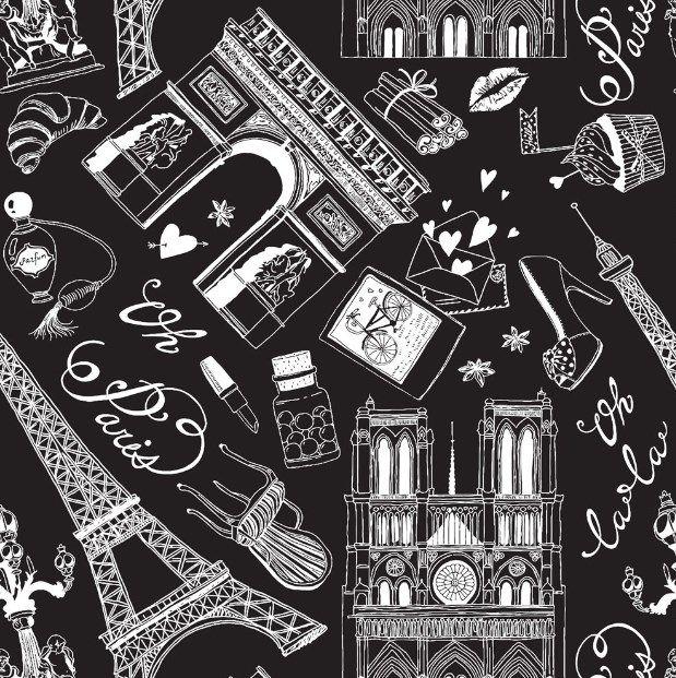 PAPEL DE PAREDE PARIS -  1114