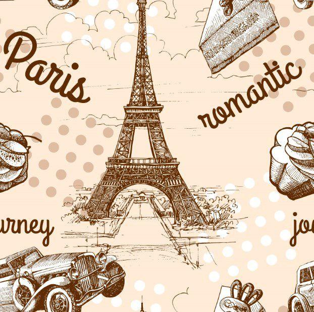 PAPEL DE PAREDE PARIS -  717