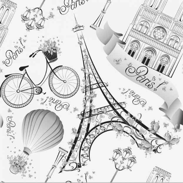 PAPEL DE PAREDE PARIS - 881