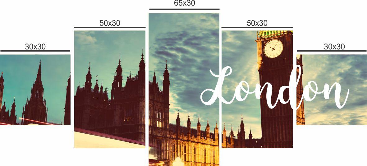 QUADRO DECORATIVO LONDRES - 29