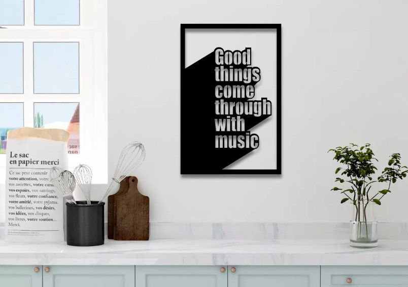 Quadro Decorativo Musical
