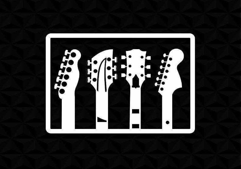 Quadro Decorativo Musical Mdf