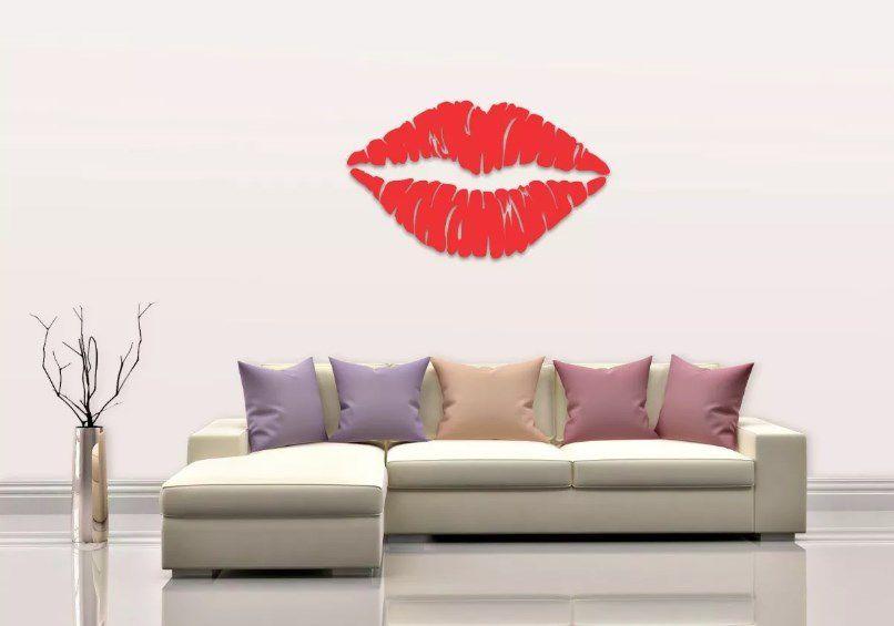 Quadro Decorativo O Beijo Mdf