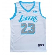 Camisa Regata Lakers Branca
