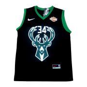 Camisa Regata Milwaukee Bucks Preto