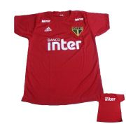 Camisa São Paulo Treino  Vermelha