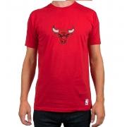 Camiseta Bulls Vermelho- manga Curta