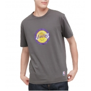 Camiseta Lakers Cinza- Manga Curta