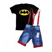 Conjunto Infantil Batman