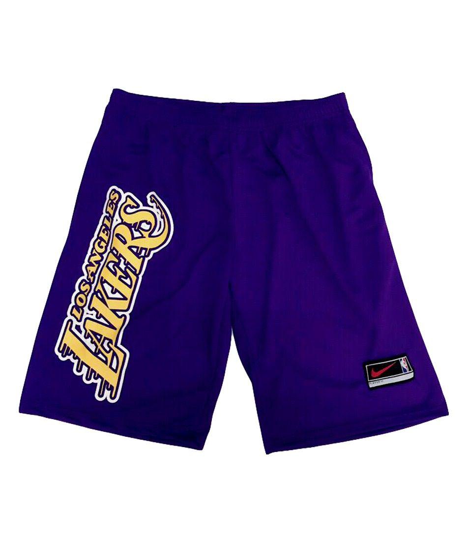 Bermuda Basquete Lakers roxa