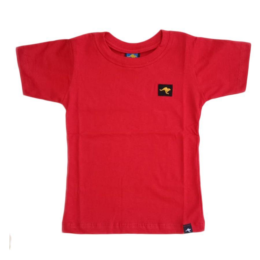 - Camisa Infantil - Vermelho