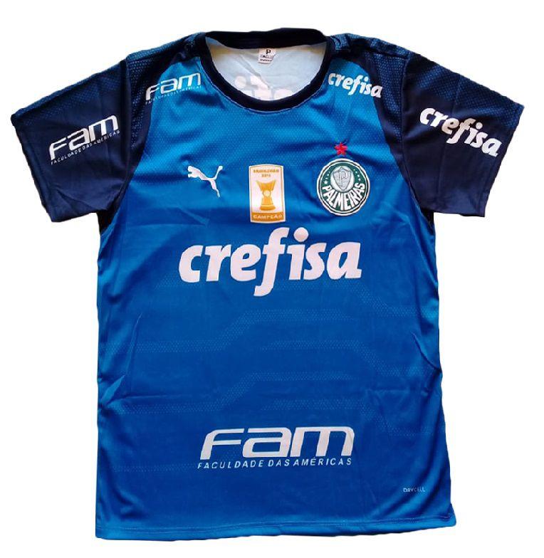 Camisa Palmeiras Azul
