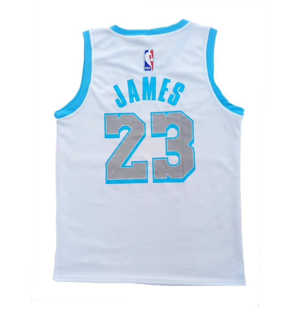 Camisa Regata Lakers Branca