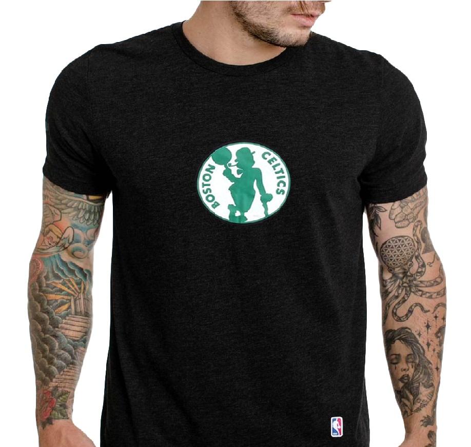 Camiseta Celtcs Preto- Manga Curta