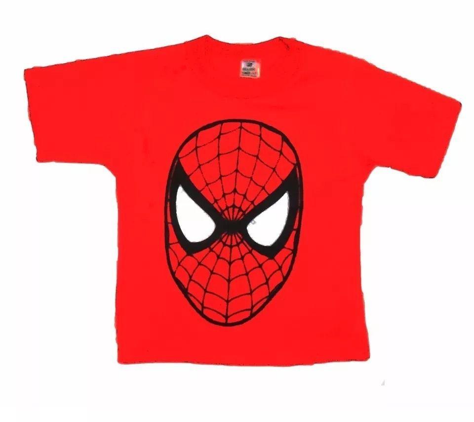 Camiseta Infantil Homem- Aranha