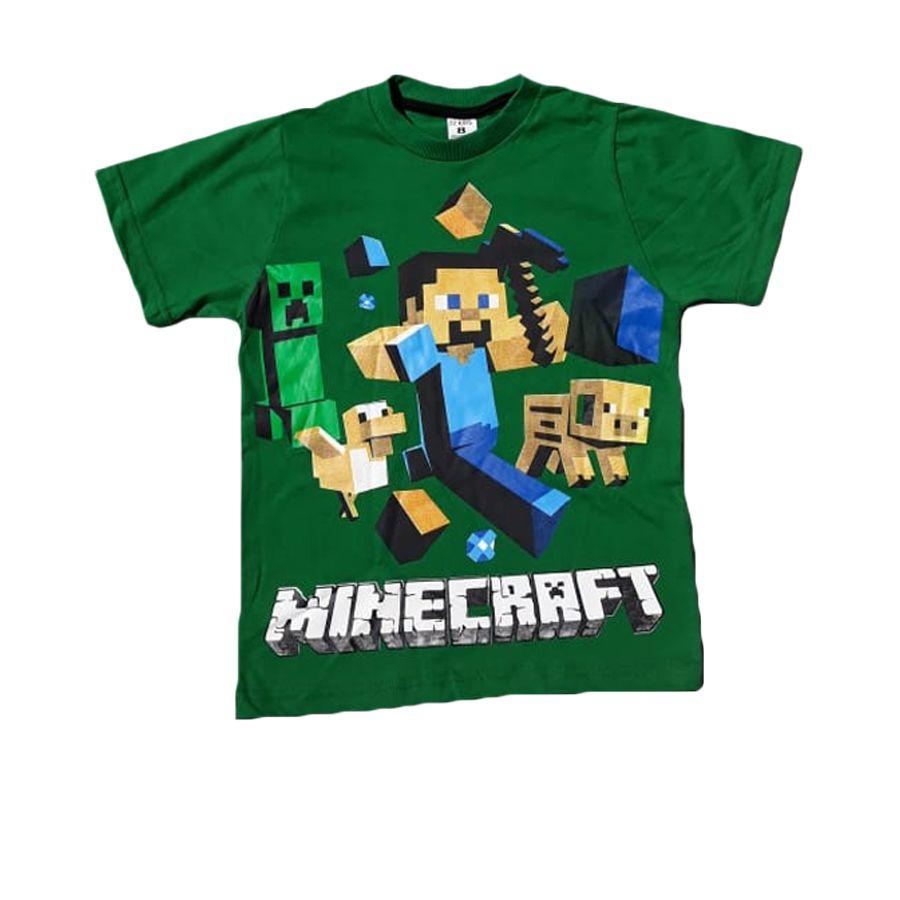 Camiseta Infantil Minecraft