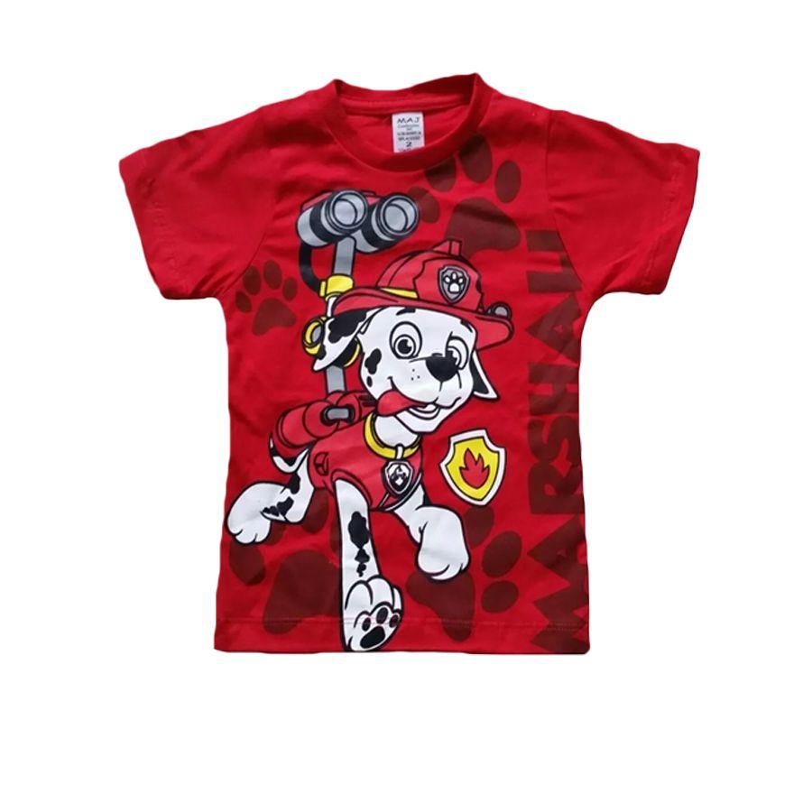 Camiseta Infantil Patrulha Canina Marshal