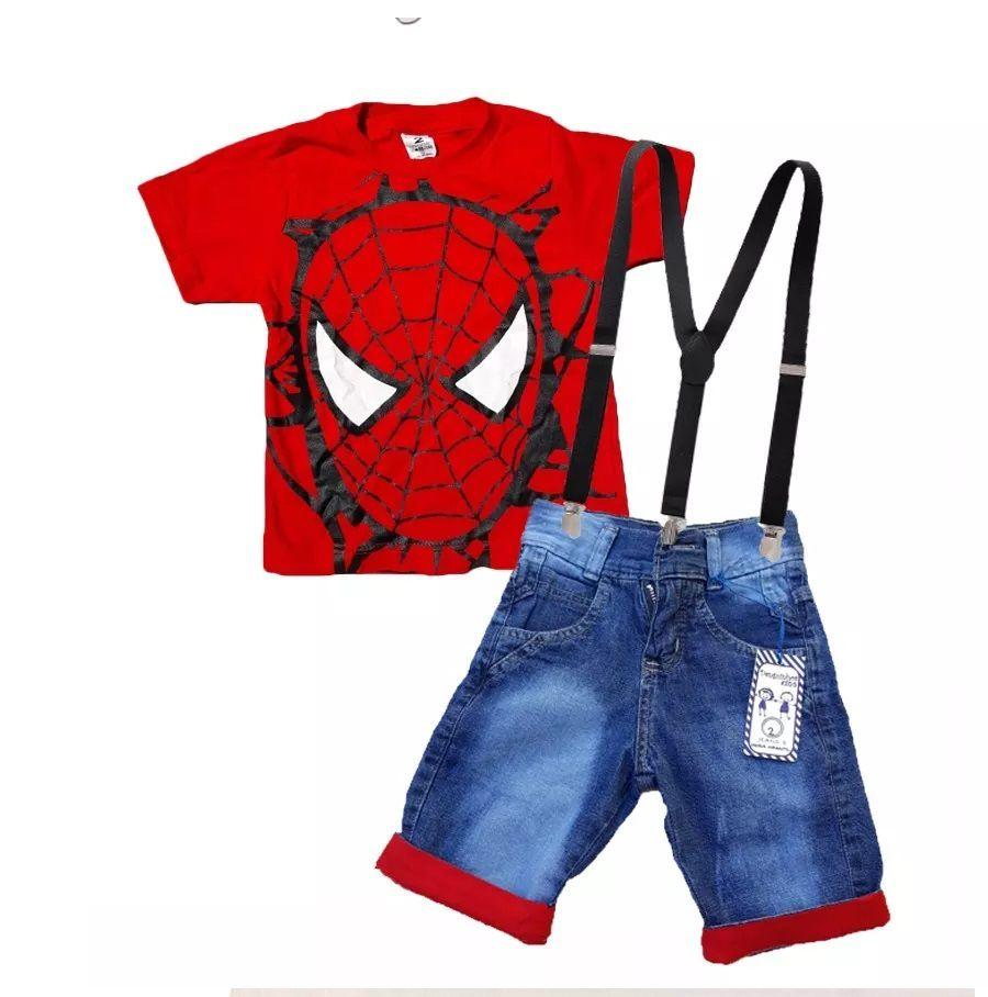 Conjunto Infantil Homem Aranha