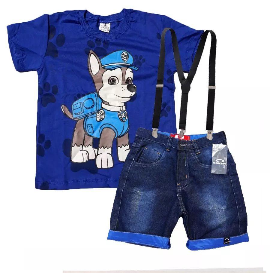 Conjunto Infantil Patrulha Canina Chase