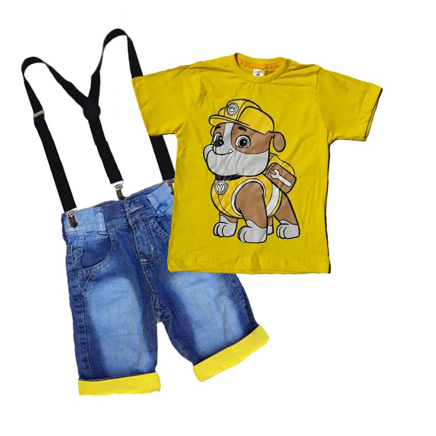 Conjunto Infantil Patrulha Canina Rubbe