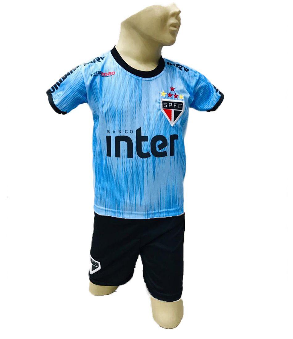 Conjunto São Paulo Azul