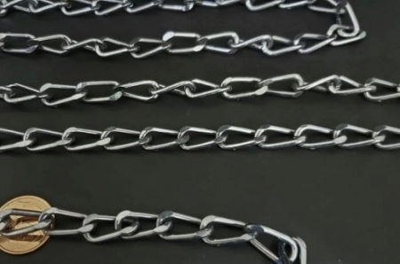 Corrente de Aluminio - Grafite  (  selecione sua metragem )
