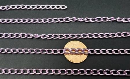 Correntes de Alumínio Coloridas  Rosa ( selecione sua cor de preferencia )