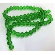 Fio de Cristal 8mm Verde Claro