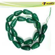 Pedra Gota Jade Verde