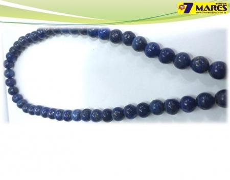 Pedra Lapis Lazuli 8mm