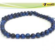 Pedra Olho de Tigre Azul 8mm