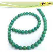 Pedra Turquesa Verde 8mm