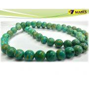 Pedra Turquesa Verde Natural 6mm