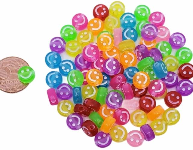 1º) Smile nas cores:   Amarelo - Coloridas Transparentes -  Brancas Colorias - M -  ( VAREJO ) CLIQUE E SELECIONE A COR DE PREFERENCIA