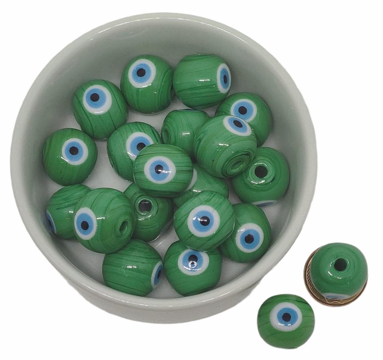 1º ) Olho Grego  VAREJO  20mm  - Selecione a Cor de Sua Preferencia