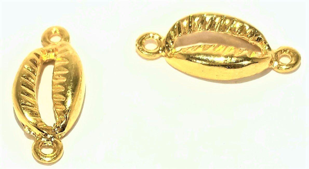Búzio 2 Saídas Dourado - BUZ05