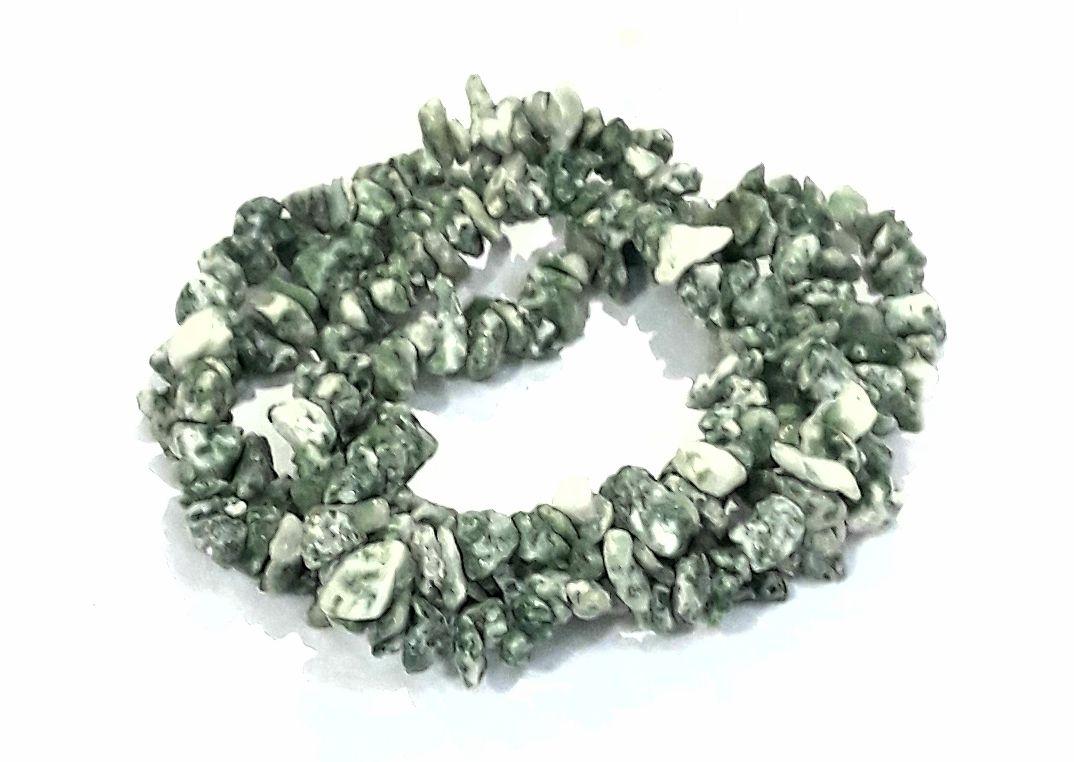 Fio de Cascalho Jade Verde - FCAS50
