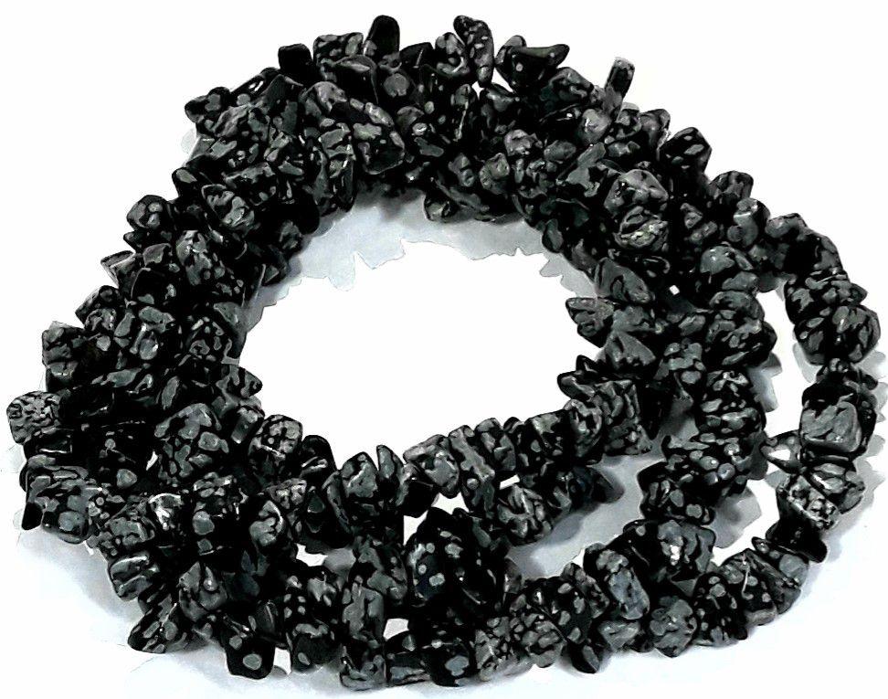 Fio de Cascalho Obsidiana Nevada - FCAS30