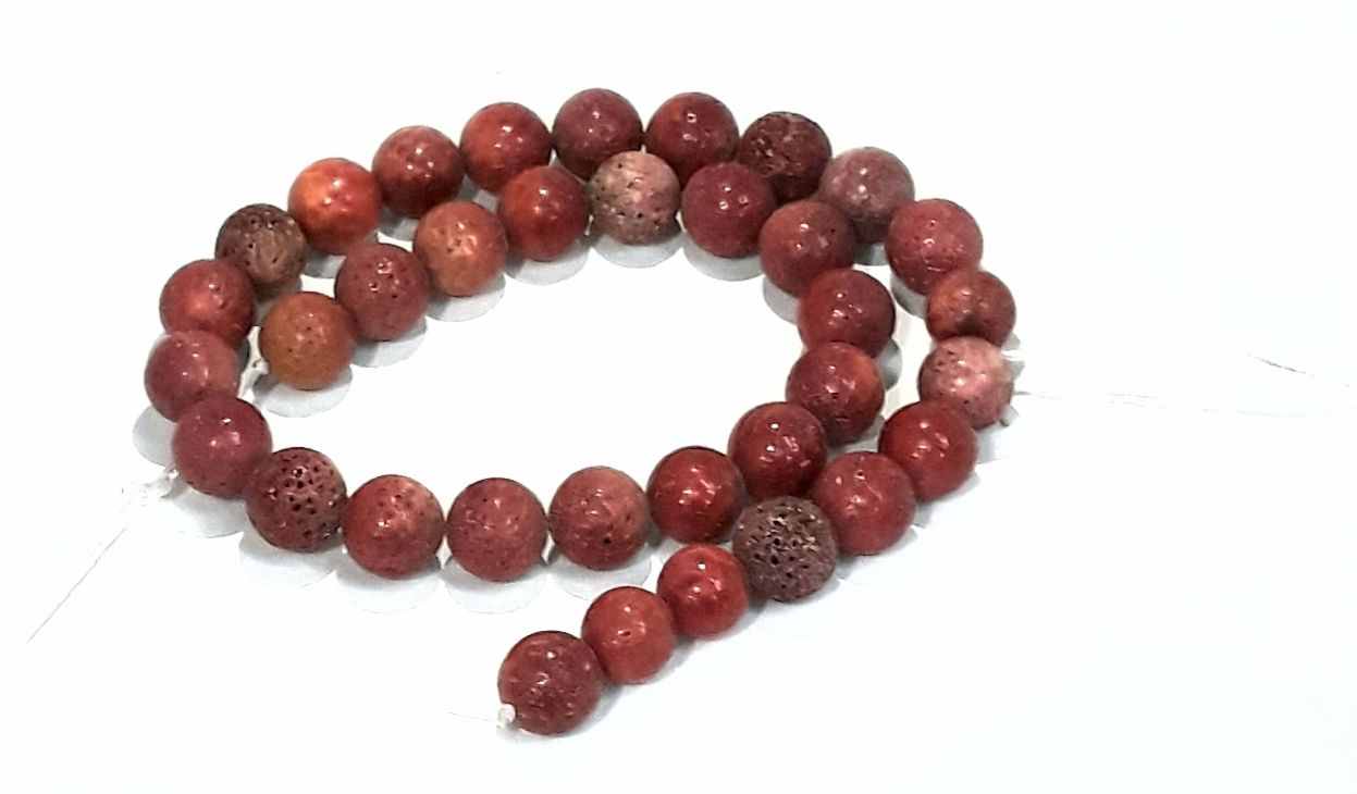 Fio de Coral Vermelho - CORA12