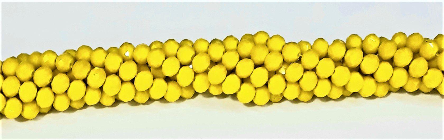 Fio de Cristal 6mm (Amarelo) - FDC12