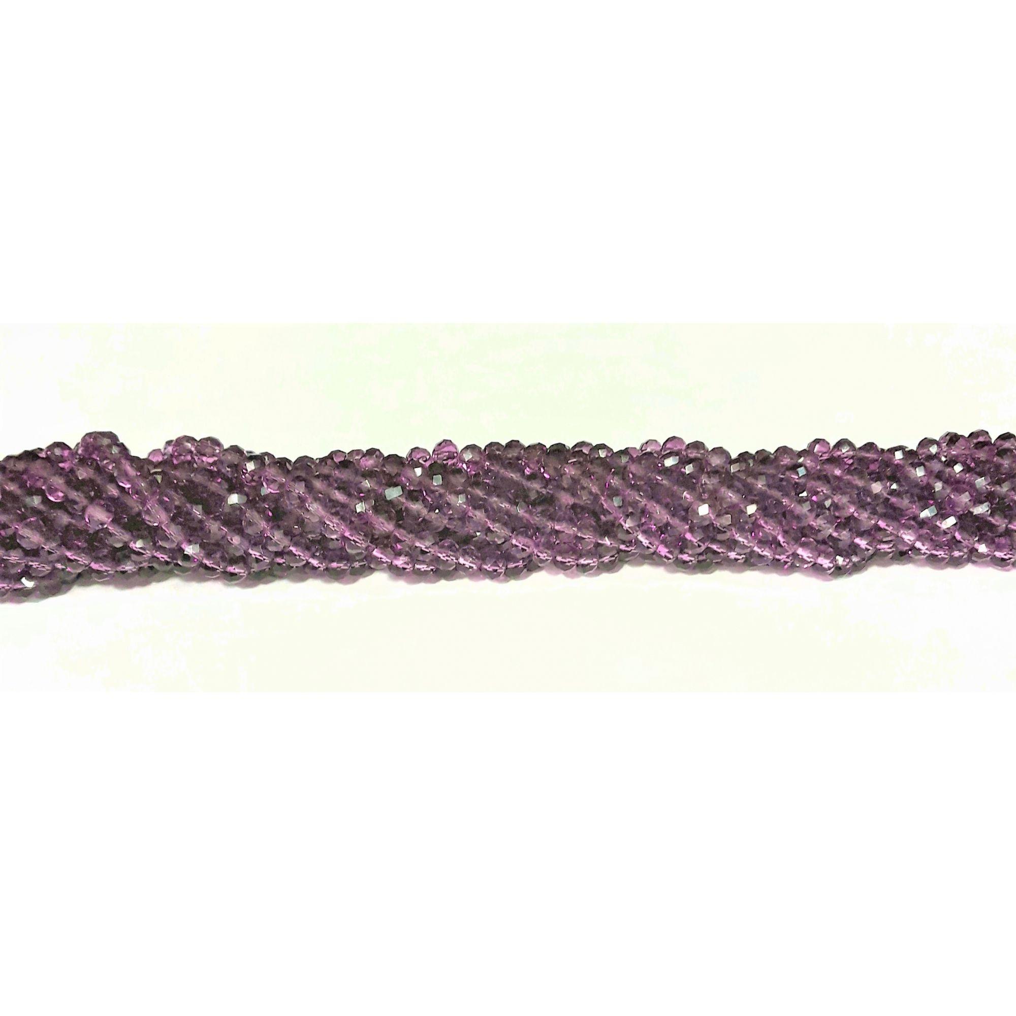 Fio de Cristal 6mm (Lilas) - FDC28
