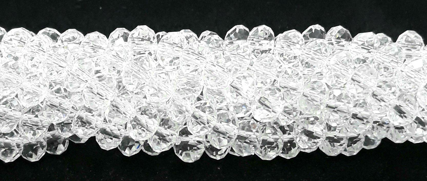 Fio de Cristal 6mm ( Transparente) - FDC04