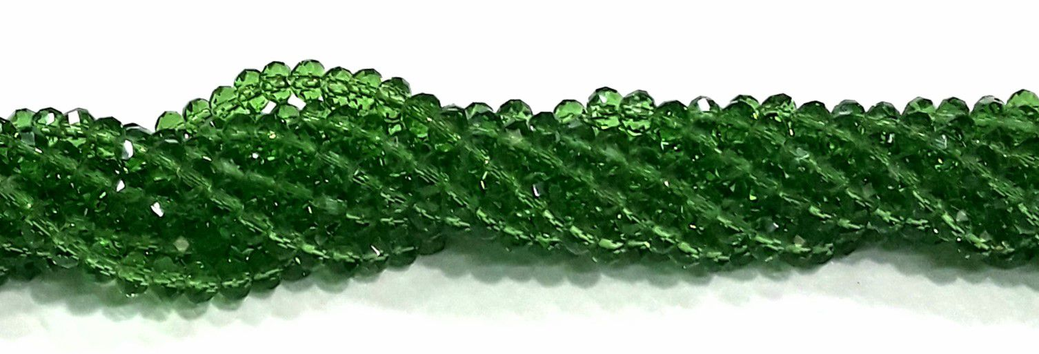 Fio de Cristal 6mm (Verde) - FDC05
