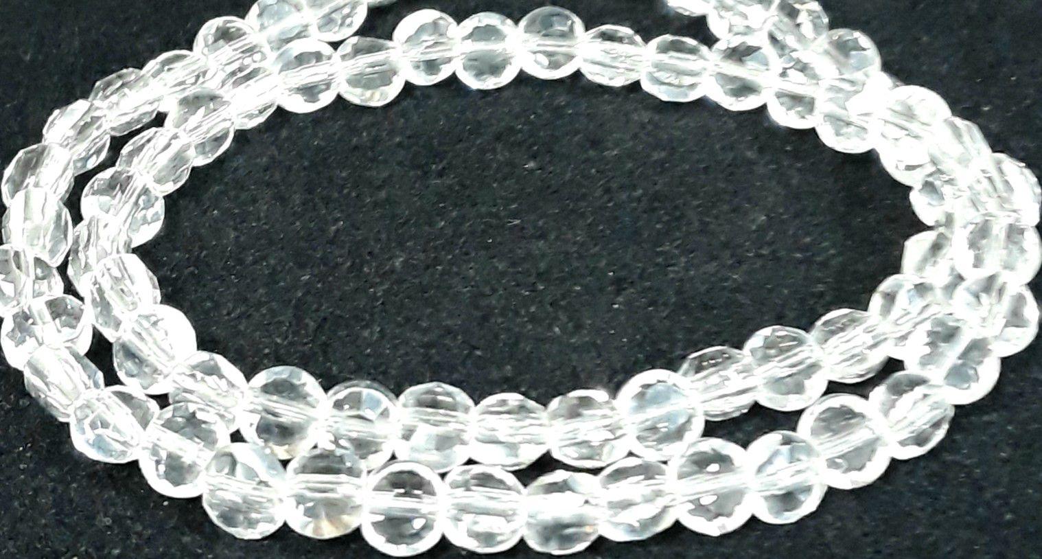 Fio de Cristal 8mm (Transparente) - FDC12